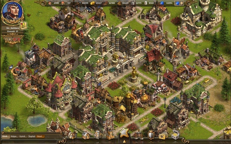 The Settlers online - browser hra